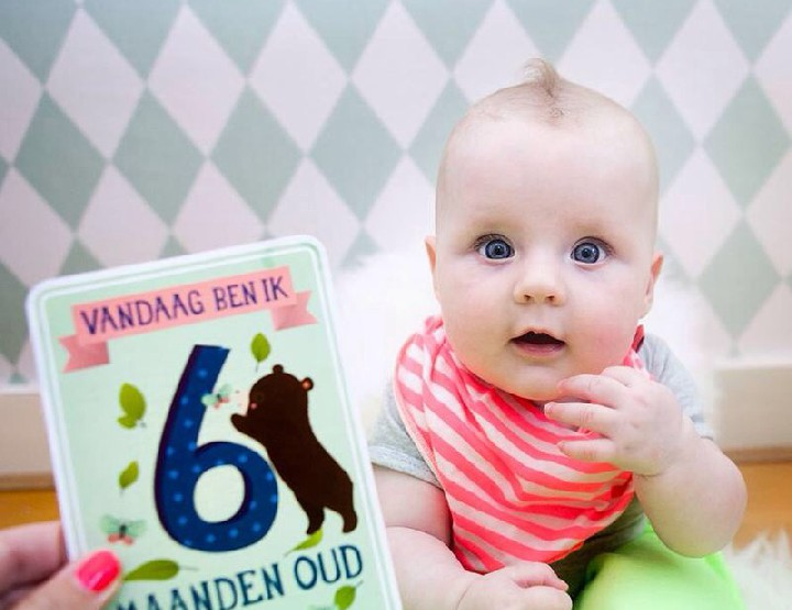Cadeau-hit: Milestone Babycards