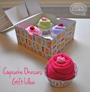 Babyshower cupcake giftbox