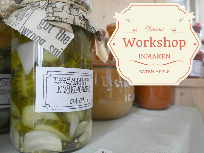 Workshop inmaken EAten apple