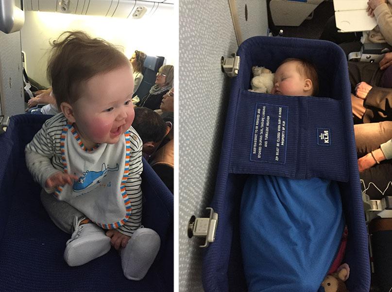 Vliegen met je baby