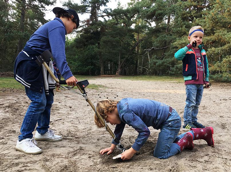 Lente uitjes - Schatgraven in het Lutterzand