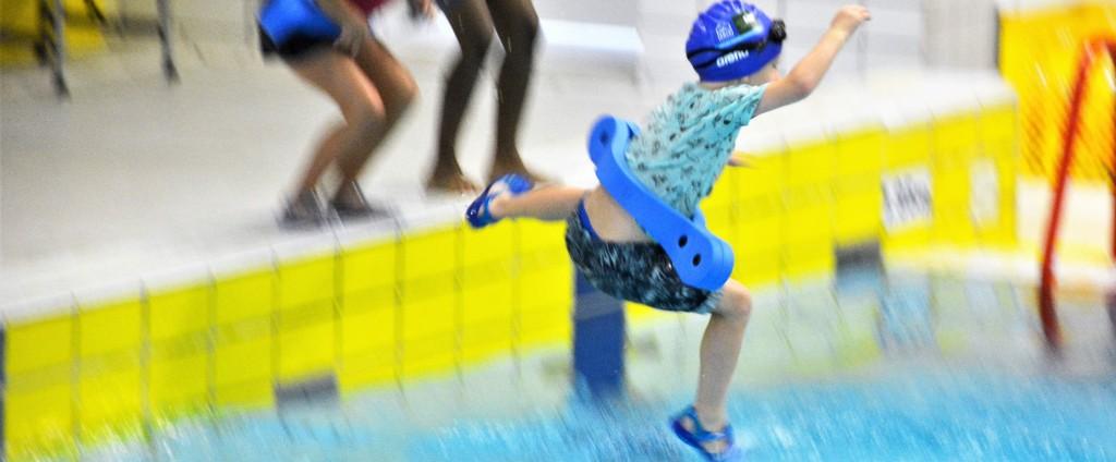 Zwemles bij het Twentebad