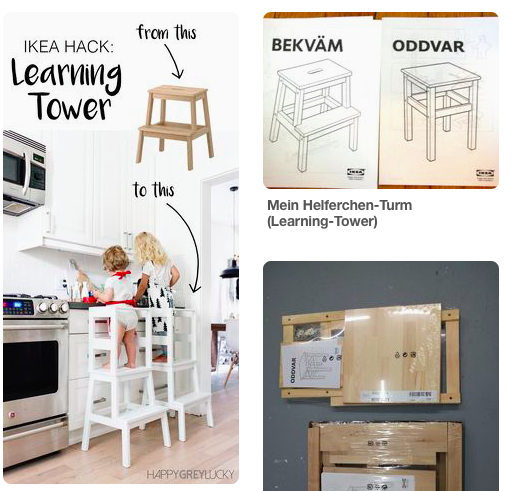 Learning tower ikea hack