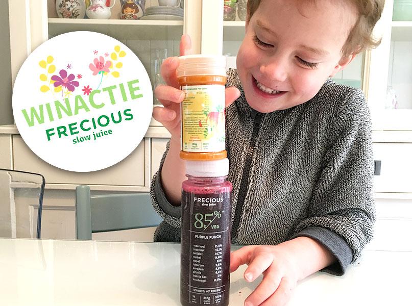Frecious slow juice groente en fruit