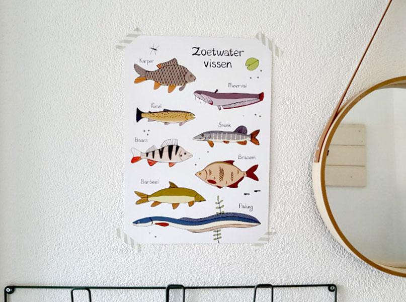 Poster Studio Kvinna