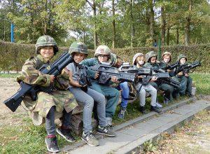 Lasergamen Paintball Warriors Rutbeek kinderfeestje 8-15 jaar