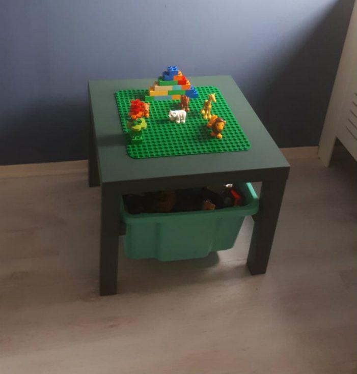 Ikea hack lego tafel