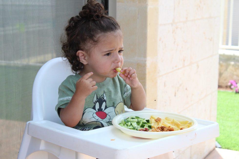 Kind wil geen groenten eten