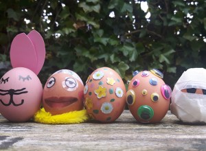 Eieren verven