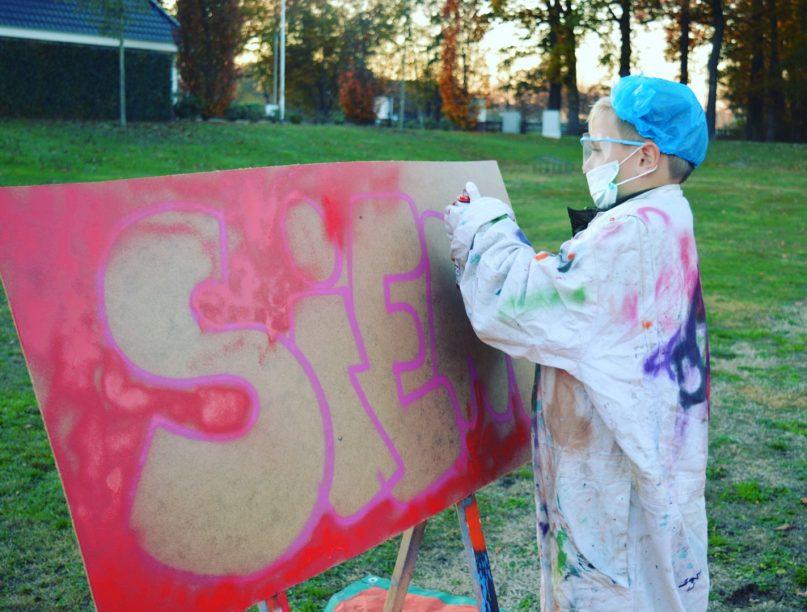 Grafitti kinderfeestje