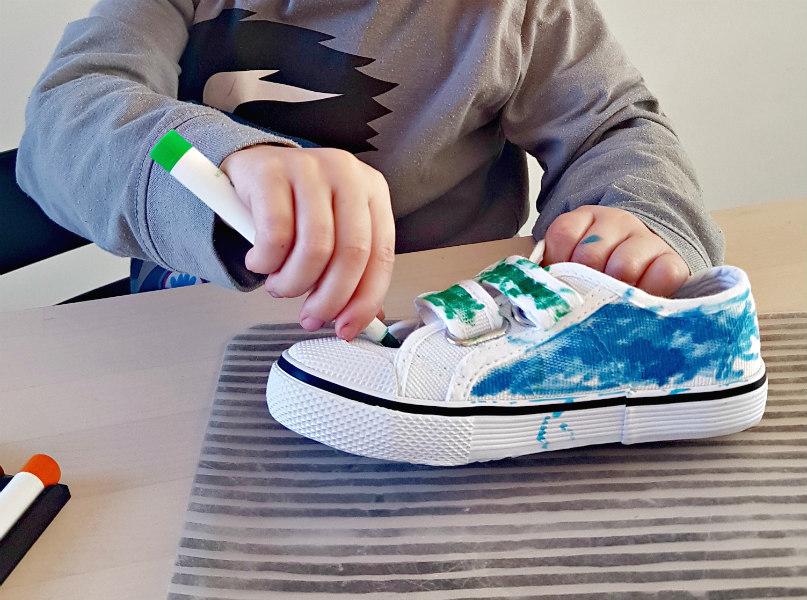 DIY Je eigen schoenen kleuren