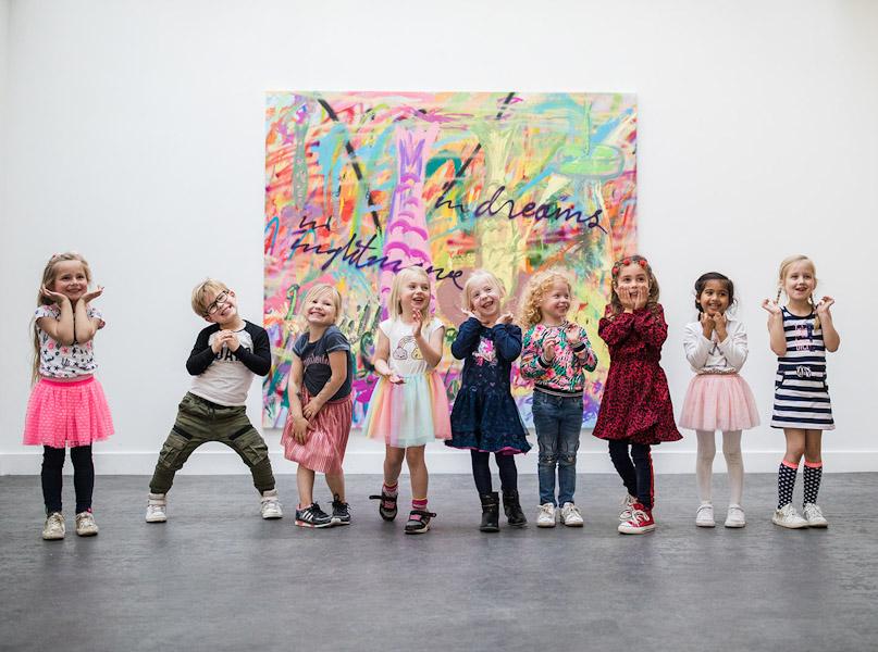 Kinderfeestje bij Concordia