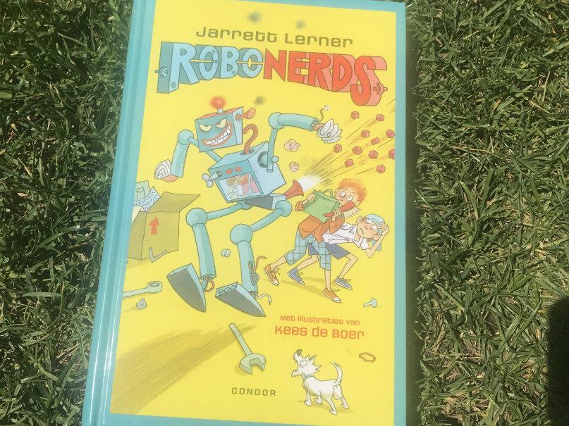 Stoer jongensboek: robonerds