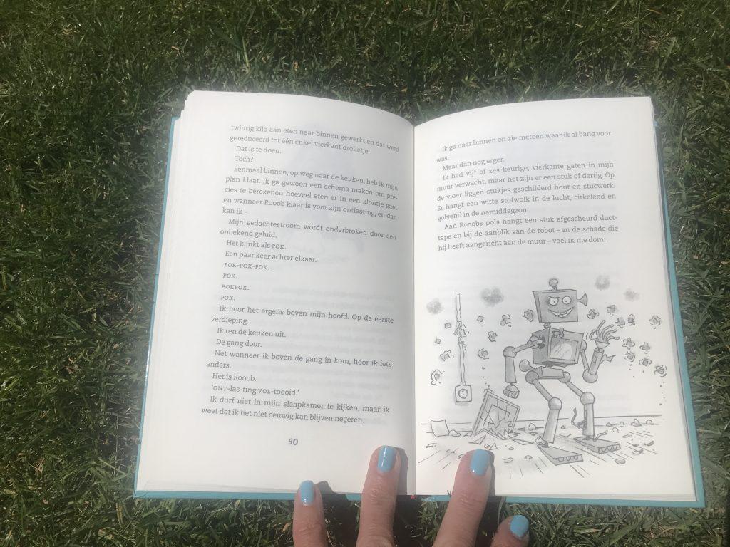 Stoere jongensboeken: robonerds