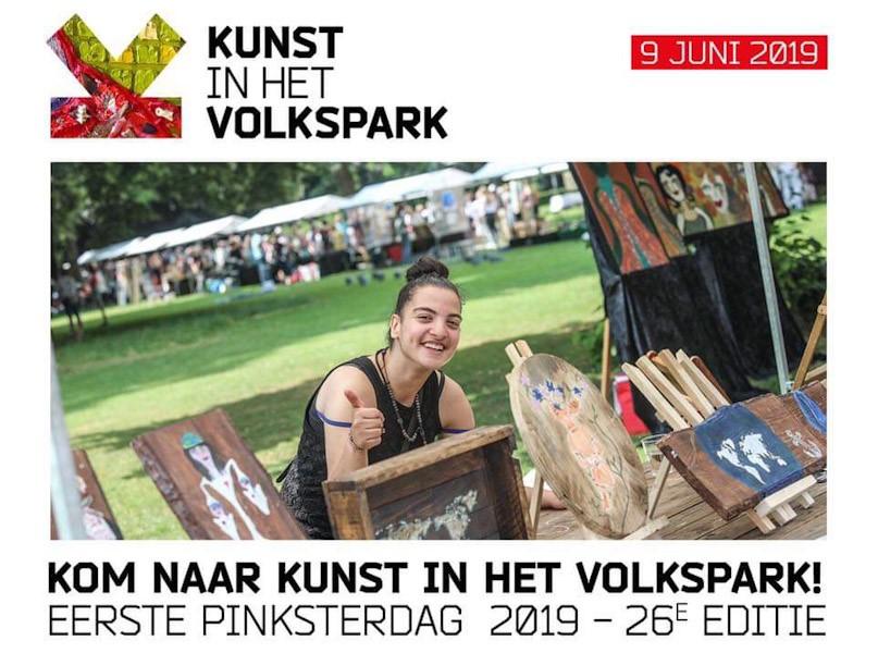 Kunst in het Volkspark