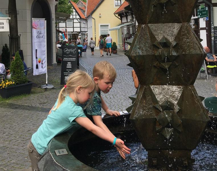 Tecklenburg met kinderen