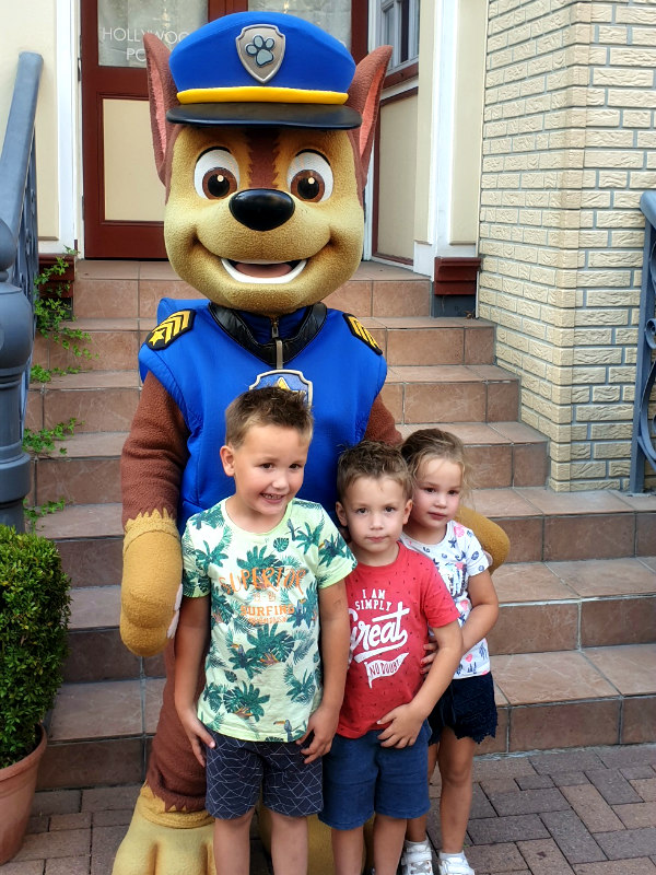 Meet and Greet met Chase in Movie Park Germany