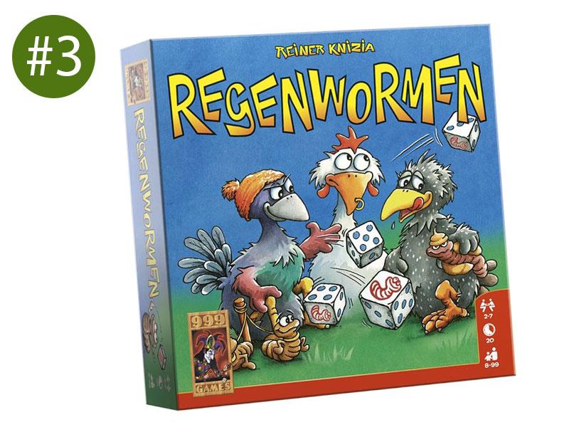 Cadeau jongen 8 regenwormen