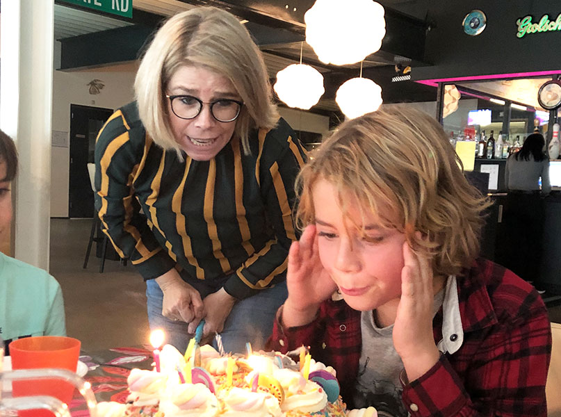 Kinderfeestje bowlen bij Starballs bowling in Enschede