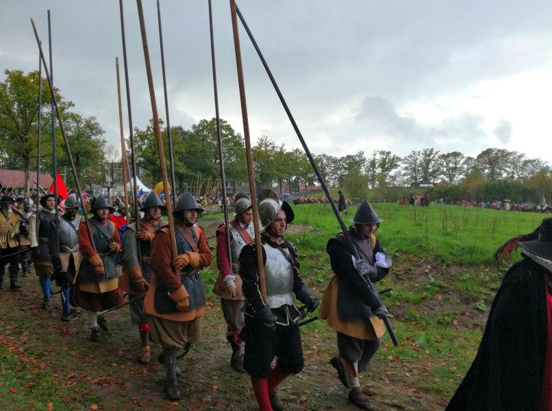 re-enactor Slag om Grolle