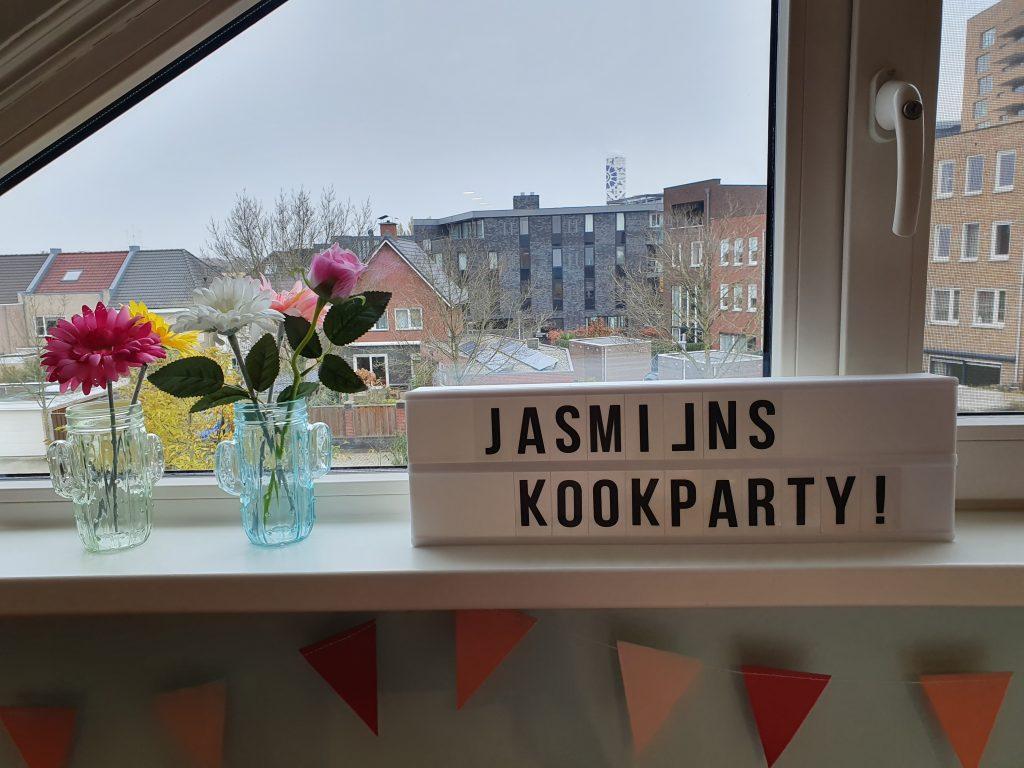 De Kookzolder Jasmijn kookparty!