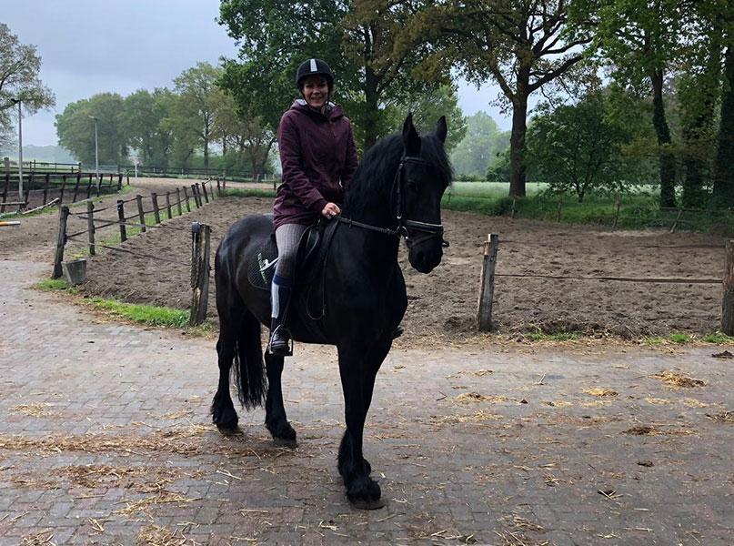me-time momenten paardrijden