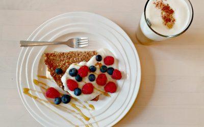 Een gezond ontbijtje? Probeer deze gezonde ontbijttaart!