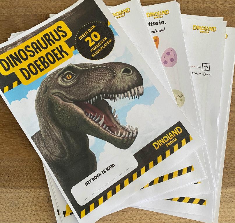 Dino doeboek