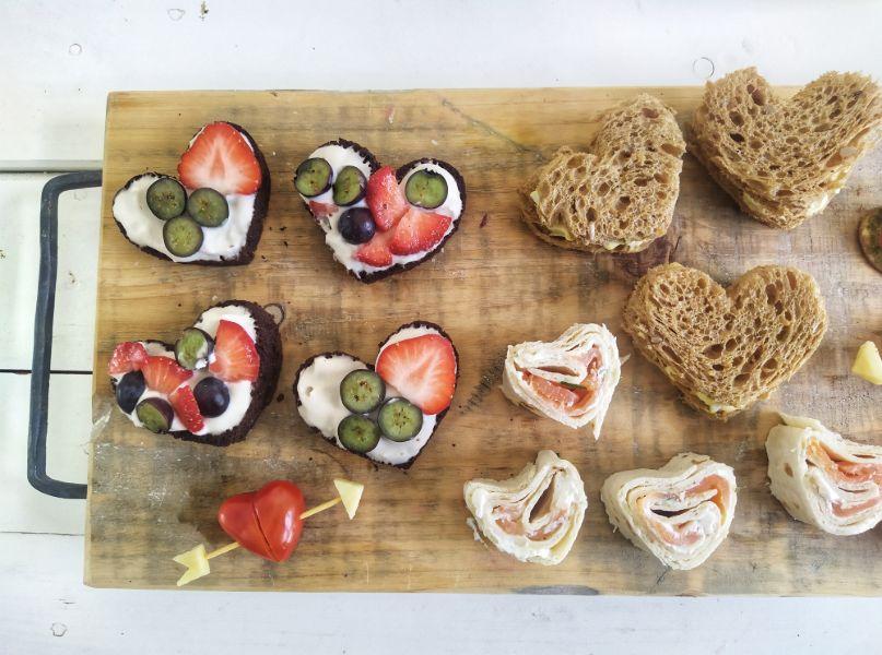 moederdag lunch plank