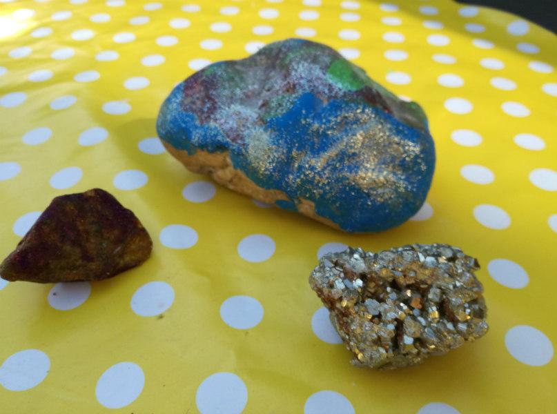 knutselen met stenen