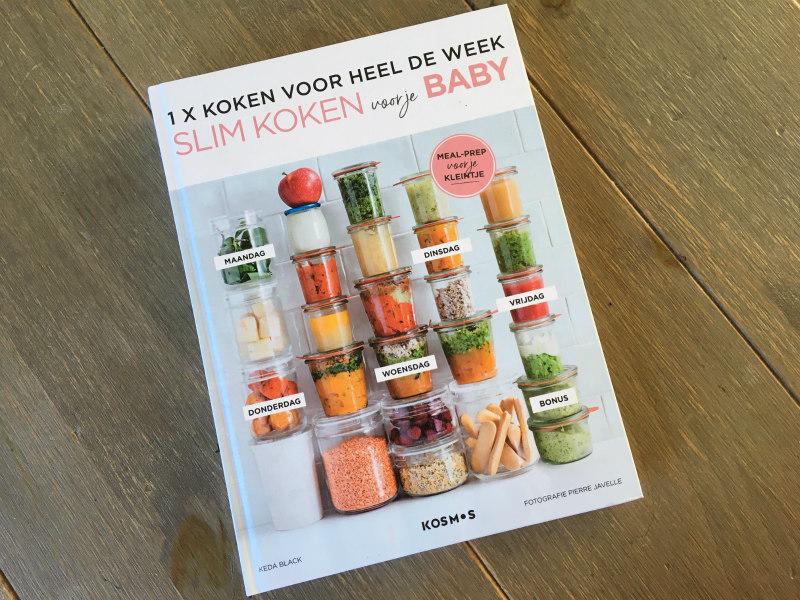 Kookboek voor babyhapjes
