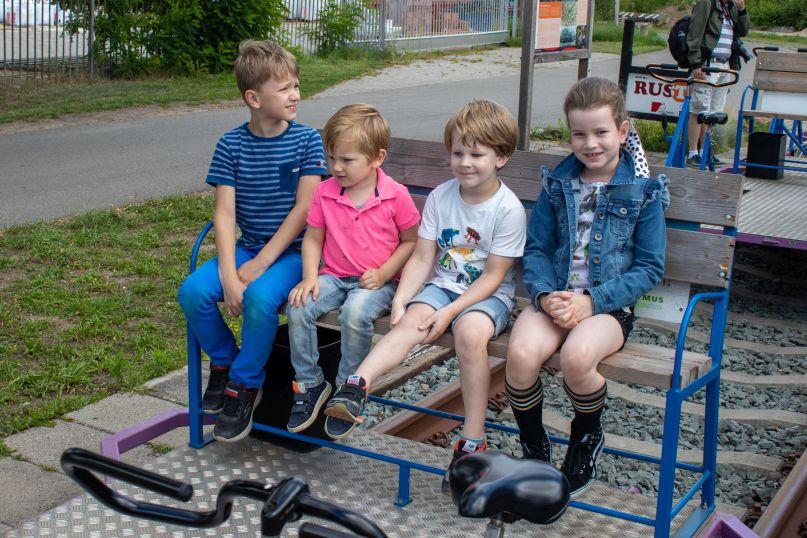 spoorfietsen in Hengelo