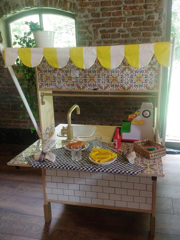 Ikea Duktig pimpen:foodbar