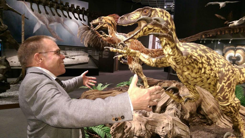 T-rex lezing Natura docet