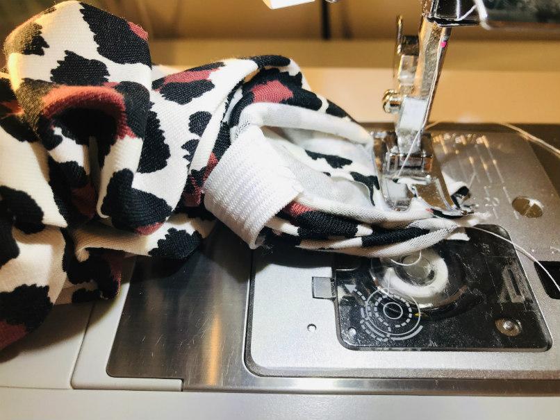 Scrunchie zelf naaien