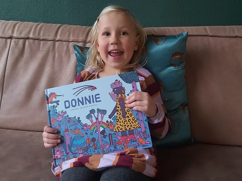 inclusief kinderboek Donnie