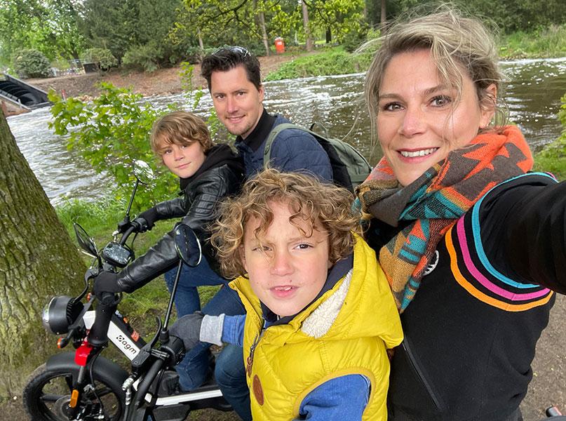 Familie uitje e-puch van Actief Twente