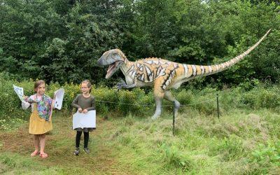 Lang zullen ze leven: Dinosaurus!? bij Natura Docet