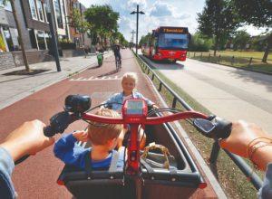 fietsen in enschede met kinderen